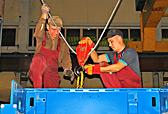 Монтаж мостового крана грузоподъемностью 25 тонн